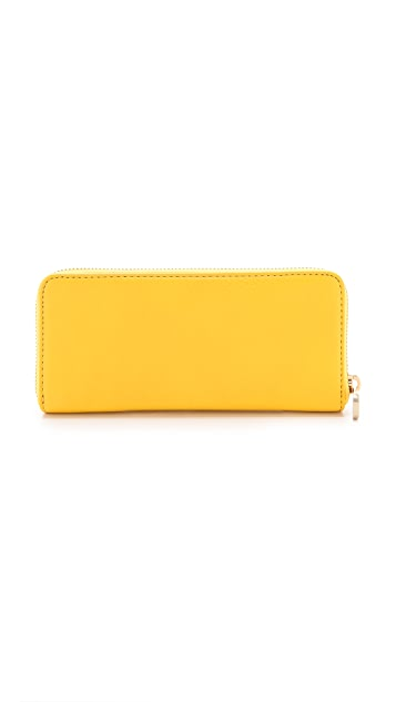 Marc by Marc Jacobs Classic Q Colorblocked Slim Zip Around