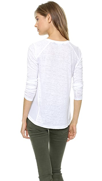 Marc by Marc Jacobs Carmen Long Sleeve Tee