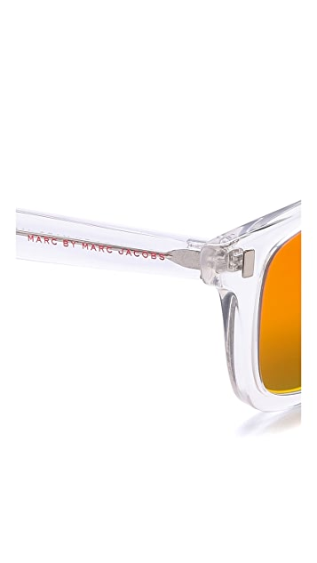 Marc by Marc Jacobs Mirrored Sunglasses
