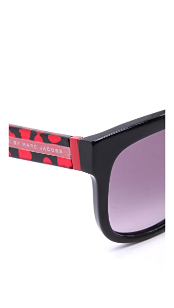 Marc by Marc Jacobs Hearts Sunglasses