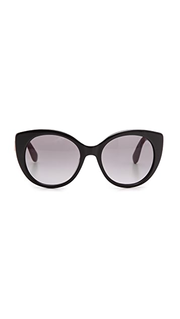Marc by Marc Jacobs Oval Frame Glasses