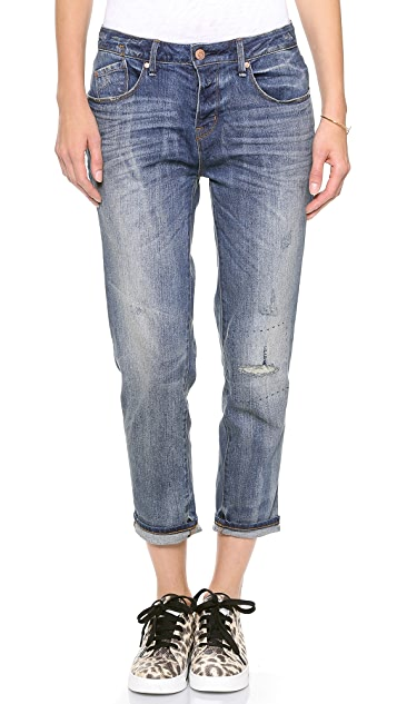 Marc by Marc Jacobs Jessie Boyfriend Crop Jeans