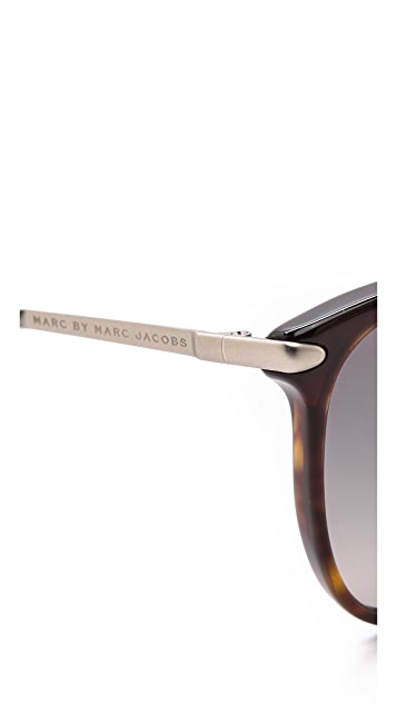 Marc by Marc Jacobs Thin Frame Sunglasses