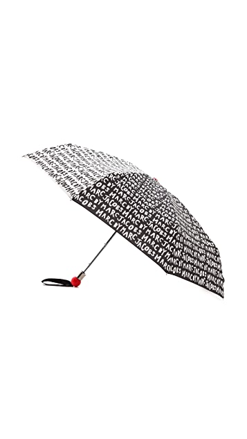 Marc by Marc Jacobs Logo Umbrella