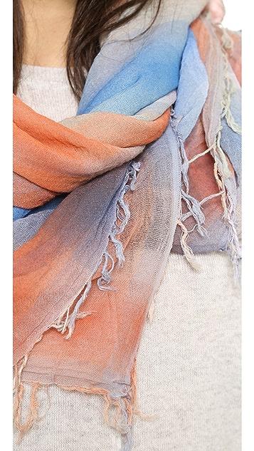 Marc by Marc Jacobs Spray Plaid Yarn Dye Scarf