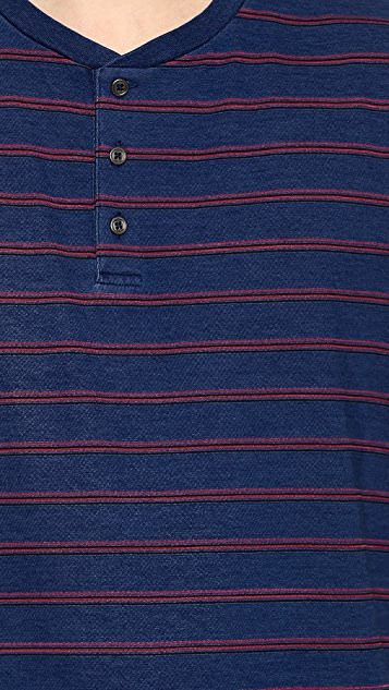 Marc by Marc Jacobs Harley Stripe Henley