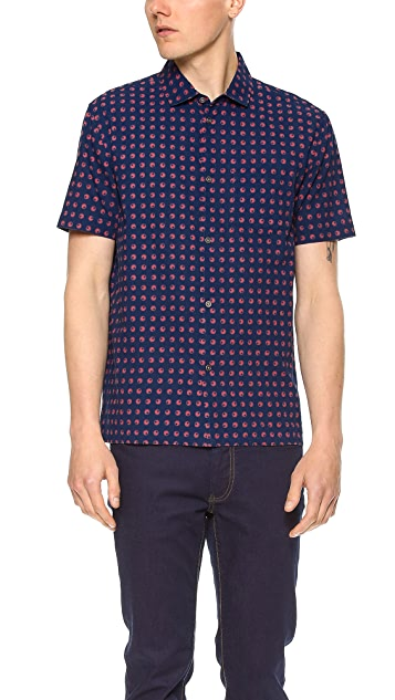 Marc by Marc Jacobs Eyeball Chambray Shirt