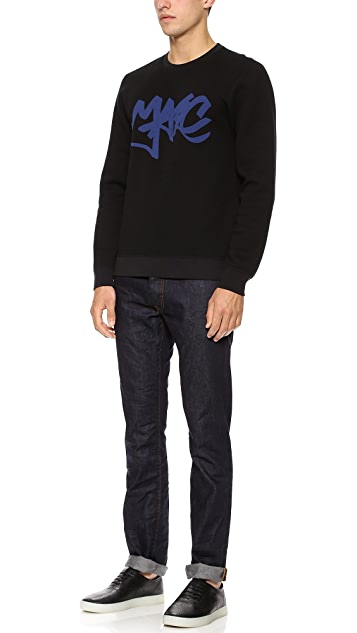 Marc by Marc Jacobs Marc Tag Sweatshirt