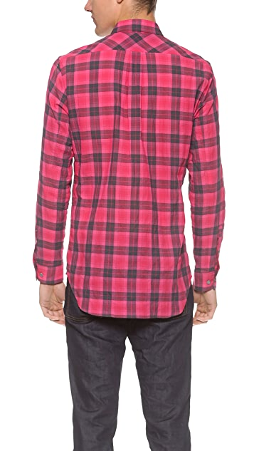 Marc by Marc Jacobs Stanley Plaid Shirt