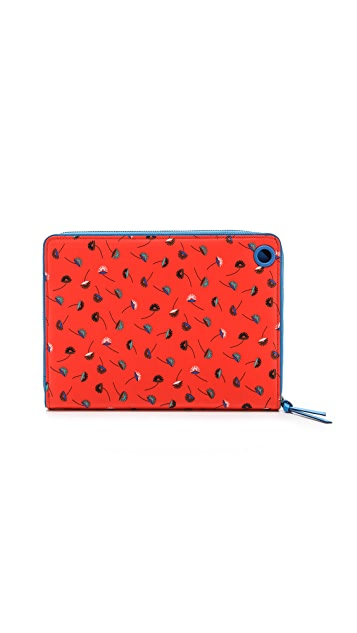 Marc by Marc Jacobs Coated Canvas Paradise Print Tablet Book