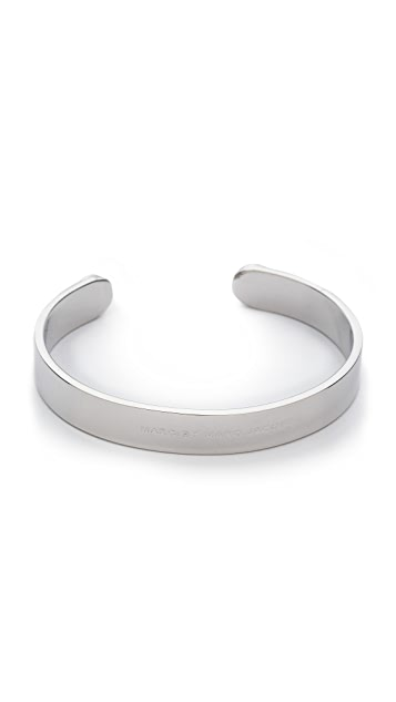 Marc by Marc Jacobs Metal Scew Cuff Bracelet
