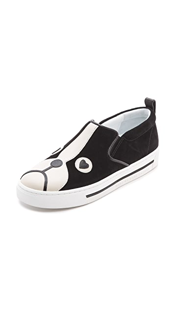 Marc by Marc Jacobs Friends of Mine Shorty Slip On Sneakers