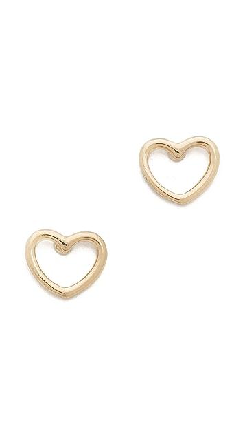 Marc by Marc Jacobs Love Stud Earrings