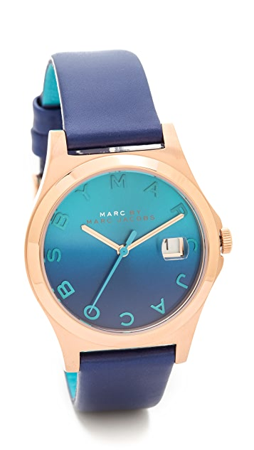 Marc by Marc Jacobs The Slim Leather Watch