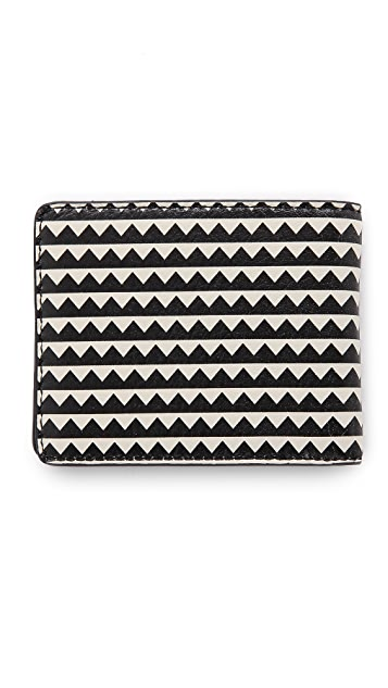 Marc by Marc Jacobs Zigzag Martin Wallet