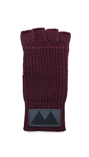 Marc by Marc Jacobs Fisherman Sweater Fingerless Gloves