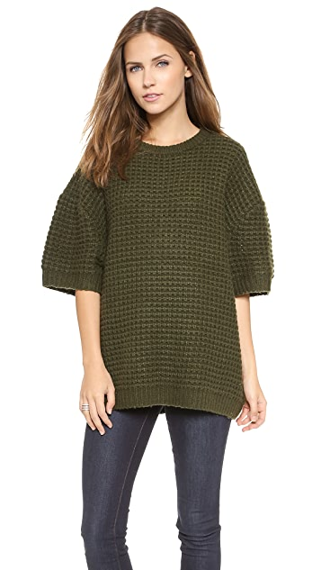 Marc by Marc Jacobs Walley Short Sleeve Sweater