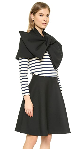 Marc by Marc Jacobs Sixities Knoted Capelet