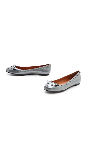 Marc by Marc Jacobs Patent Mouse Ballerina Flats