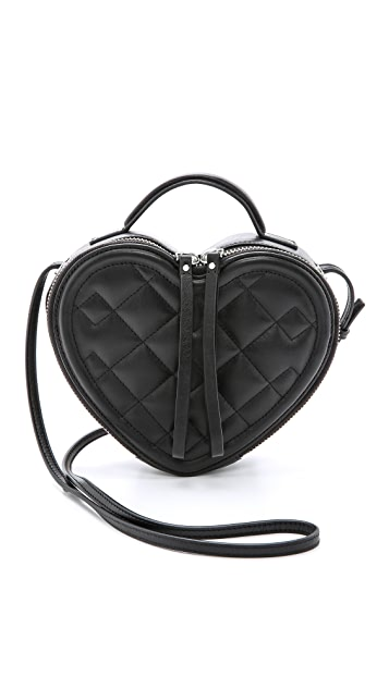 Marc by Marc Jacobs Heart to Heart Quilted Cross Body Bag