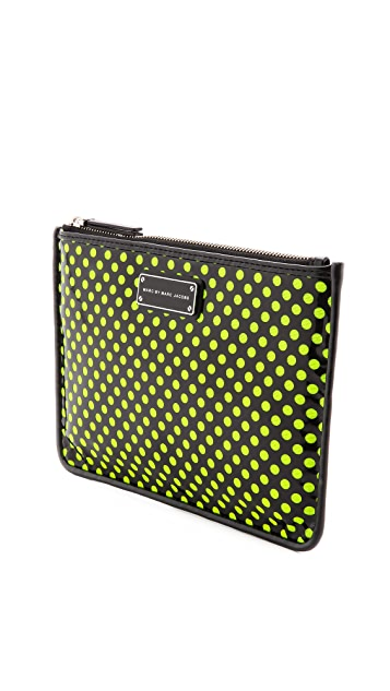 Marc by Marc Jacobs Techno Mesh Mini Tablet Pouch