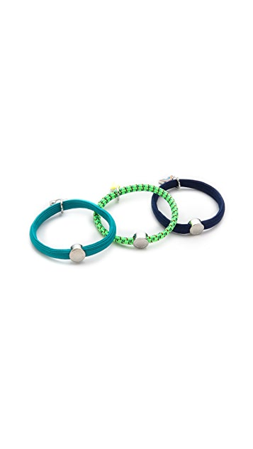 Marc by Marc Jacobs Weather Girl Pony Hair Ties