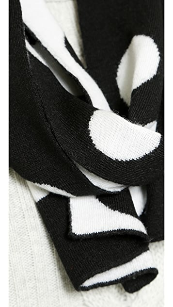 Marc by Marc Jacobs Charlie Dot Scarf