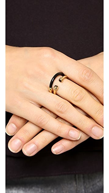 Marc by Marc Jacobs Hula Hoop Ring Set