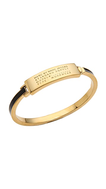 Marc by Marc Jacobs Standard Supply Fine Enamel Bangle Bracelet