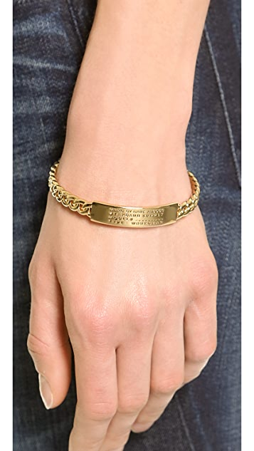 Marc by Marc Jacobs Standard Supply Fixed Chain Bangle Bracelet