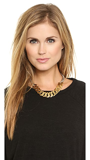 Marc by Marc Jacobs Mixed Up Katie Link Choker Necklace