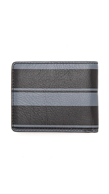 Marc by Marc Jacobs Printed Stripe Martin Wallet