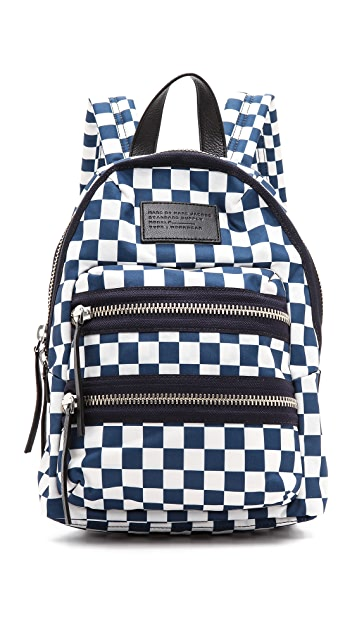 299d0eb5ce03 Marc by Marc Jacobs Domo Arigato Checkered Mini Packrat Backpack ...