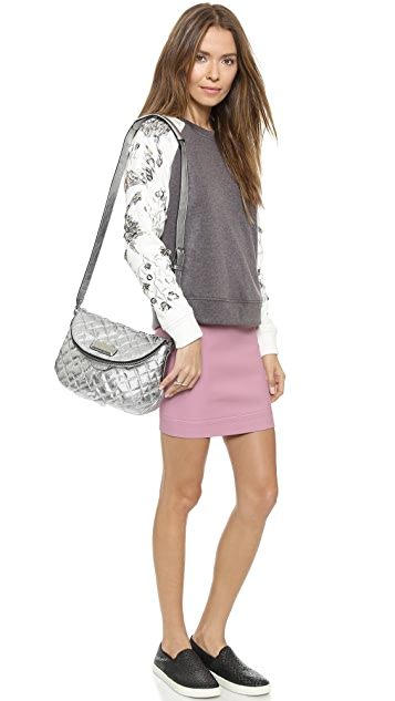 Marc by Marc Jacobs Quilted Metallic Natasha Bag