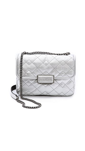 a2ed2f1911f0 Marc by Marc Jacobs Quilted Metallic Rebel 24 Bag