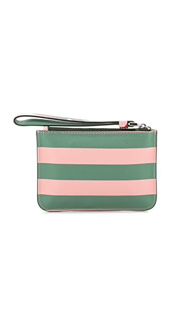 Marc by Marc Jacobs Sophisticato Jerrie Rose Small Wristlet with Key Ring