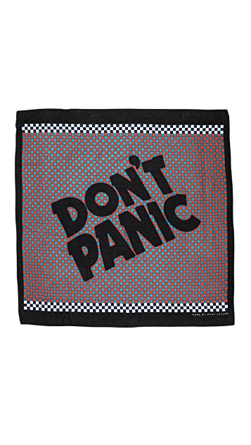 Marc by Marc Jacobs Don't Panic Scarf