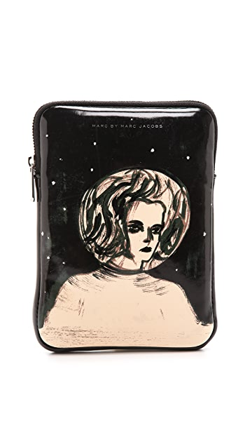 Marc by Marc Jacobs Astronauts Mini Tablet Zip Case
