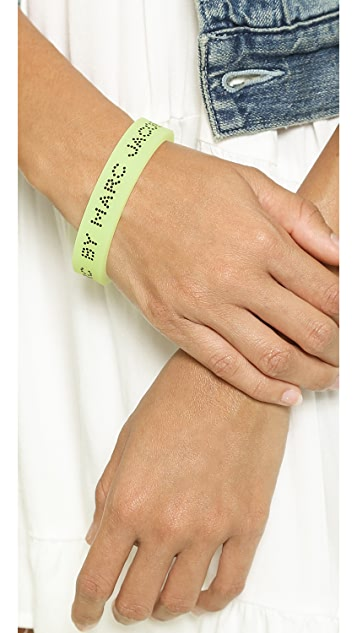 Marc by Marc Jacobs USB Silicone Bracelet