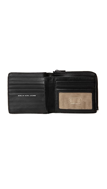 Marc by Marc Jacobs Classic Wallet with Coin Pouch