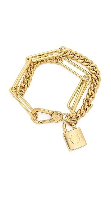 Marc by Marc Jacobs Double Wrap Chain Bracelet