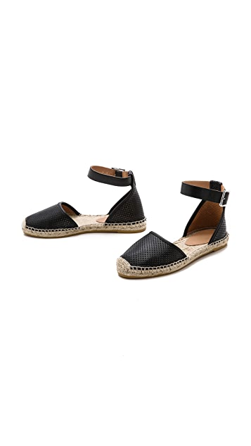 Marc by Marc Jacobs Summer Breeze D'Orsay Flat Espadrilles