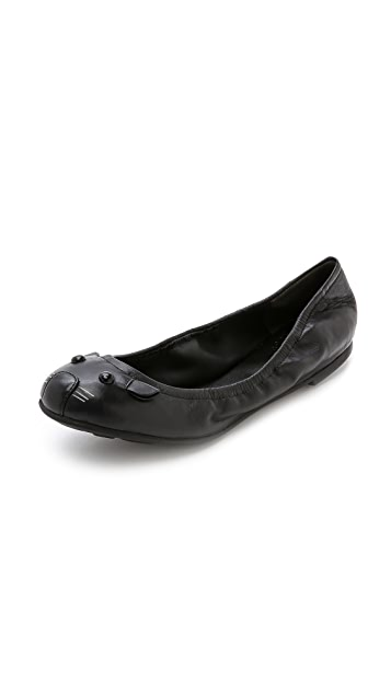 8c480a5493f1 Marc by Marc Jacobs Elastic Mouse Ballerina Flats