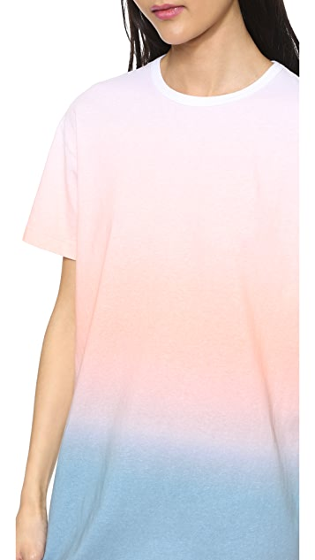 Marc by Marc Jacobs Ombre Short Sleeve Dress