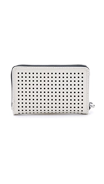 Marc by Marc Jacobs Sophisticato Bow Perforated Wingman Wallet