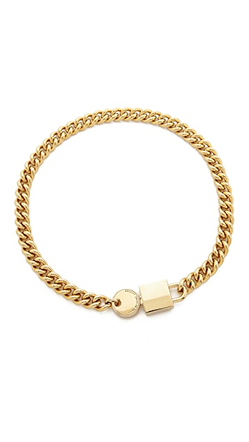 Marc by Marc Jacobs Lock In Choker Necklace