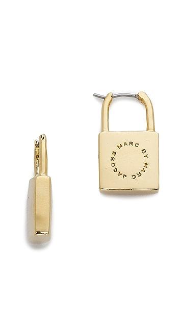 Marc by Marc Jacobs Lock In Earrings