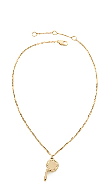 Marc by Marc Jacobs Whistle Pendant Necklace