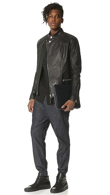 Marc by Marc Jacobs Classic Leather Portfolio