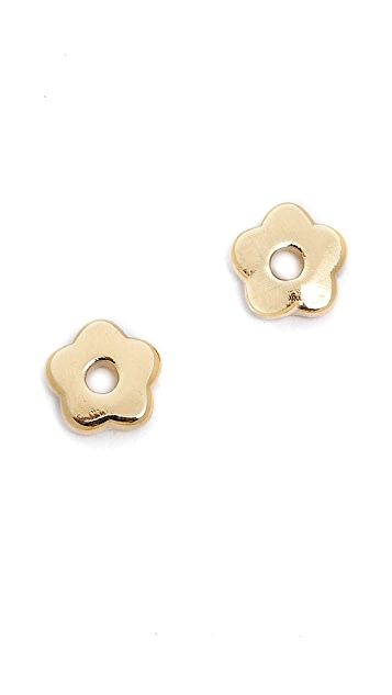 Marc by Marc Jacobs Tiny Daisy Stud Earrings